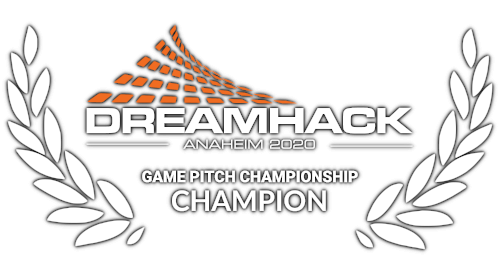 Award - Game Pitch Champion at Dreamhack Anaheim 2020